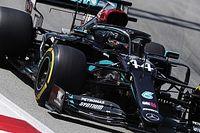 İspanya GP 3. antrenman: Hamilton ve Mercedes yine lider