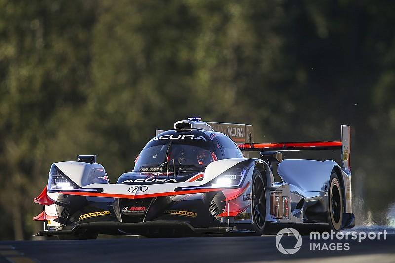 Petit Le Mans: Rahal y Acura son líderes a mitad de la competencia