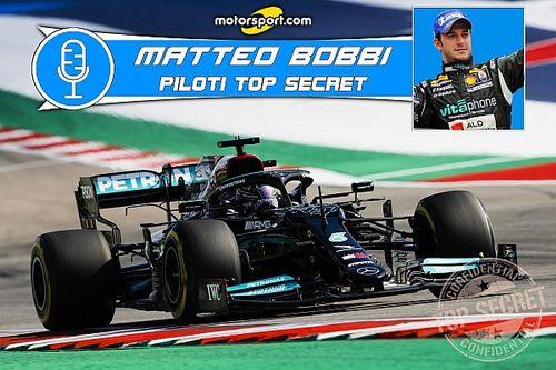 """Podcast F1   Bobbi: """"Lewis e W12, inspiegabili difficoltà di guida"""""""