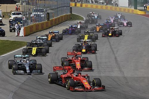 Tres pistas están ausentes del calendario que piensa la F1