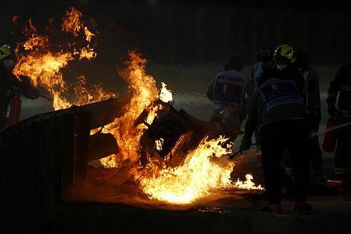 Accidente de Grosjean: ¿qué habría pasado sin barreras?