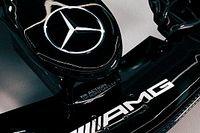 Mercedes W12: Bottas már meg is mutatta a 2021-es autó egy részét