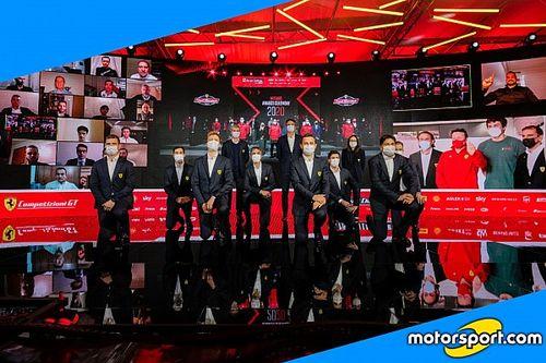 Finali Ferrari 2020: il backstage della premiazione