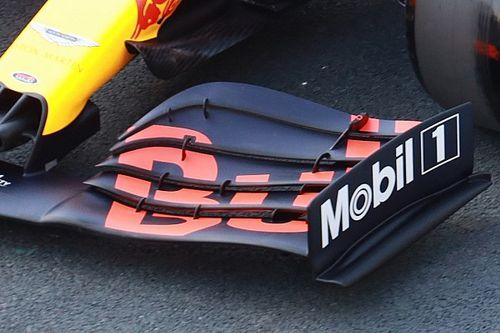 VIDEO: Maskeerde verkeerde vleugelafstelling progressie Red Bull?