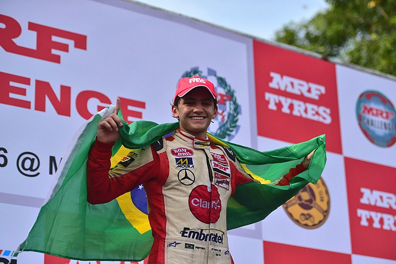 "Fittipaldi says winning MRF Challenge title a ""good boost"""