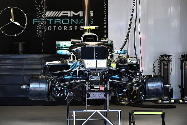 Formule 1 Actualités Mercedes va introduire des correctifs de