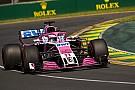 Sergio Pérez se dijo preocupado tras la calificación en Australia