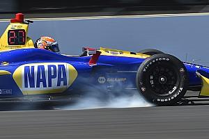 IndyCar Testbericht IndyCar-Test: Bestzeit für Rossi - aber erst mit Verspätung!