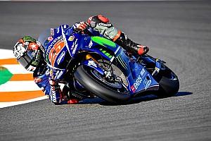 MotoGP Reaktion Vinales in Valencia auf verlorenem Posten: