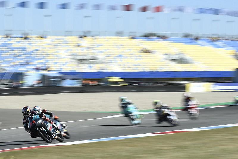 Moto3 Assen: Canet snelste in opwarmsessie, problemen Bezzecchi