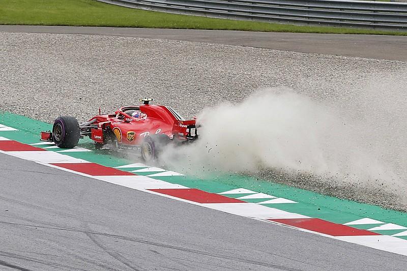 Räikkönen storce il naso: