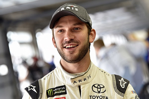 Daniel Suarez finishes second:
