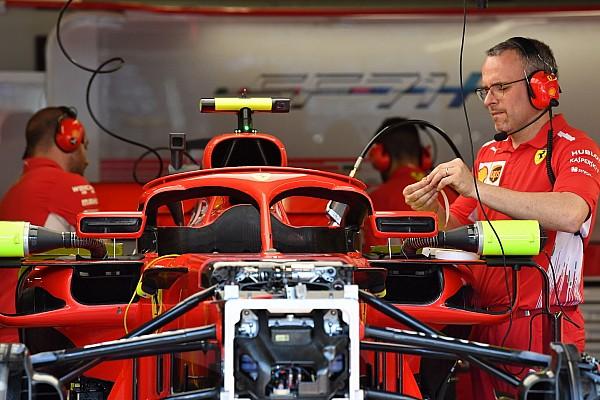 Formula 1 Breaking news Ferrari revises halo-mounted mirrors for Monaco GP