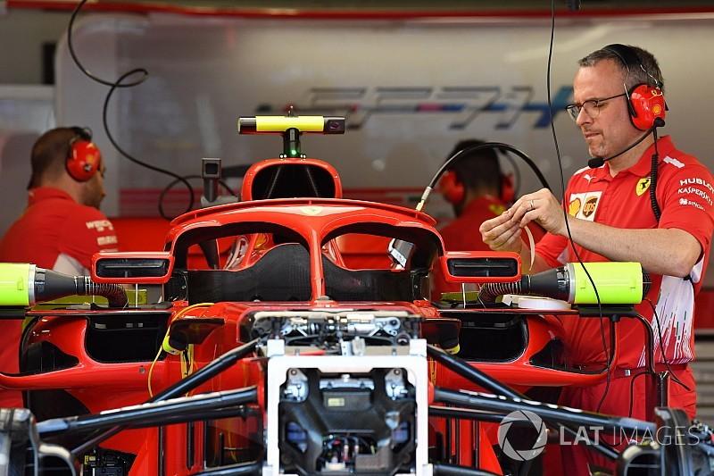 Ferrari revisi kaca spion halo di GP Monako