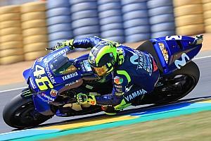 MotoGP Nieuws Rossi tast in duister: