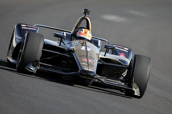 IndyCar Breaking news IndyCar postpones testing at Indy due to bad weather