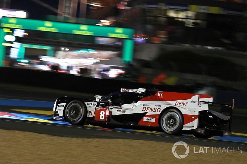 Nakajima obtiene la pole provisional para Toyota