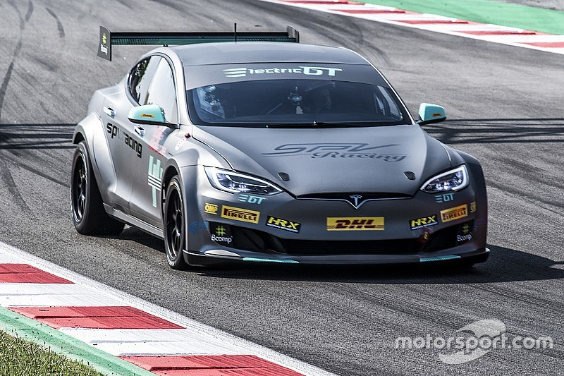 Electric GT delivers first race-ready Tesla