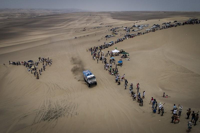 Las zonas de espectadores para la Etapa 5 del Dakar