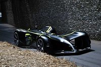 Roborace car completes Goodwood hillclimb