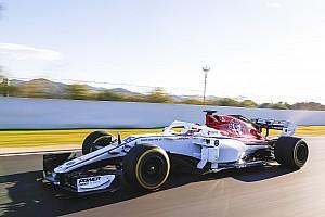 Formel 1 Fotostrecke Formel 1 2018: Erste Fahrbilder der neuen Autos