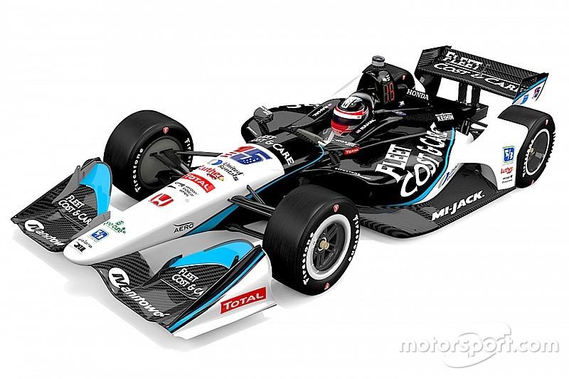 Команда IndyCar RLLR презентувала особливу ліврею на етап у Фініксі