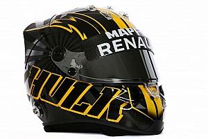 Формула 1 Важливі новини Хюлькенберг показав новий дизайн шолома для сезону Ф1 2018 року