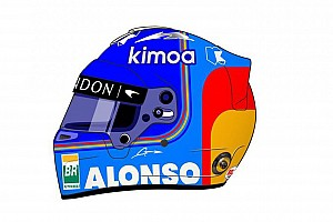 Svolta Alonso: dopo 16 anni cambia la livrea del casco