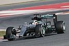 Lewis Hamilton racks up the mileage in the new Mercedes-Benz F1 W07 Hybrid Silver Arrow