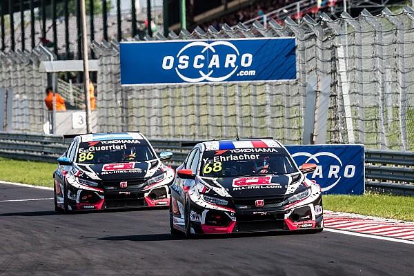 Hungary WTCR:  Ehrlacher leads Honda 1-2 in Race 1
