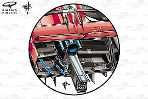 Análise: Segredo por trás dos túneis no assoalho da Ferrari