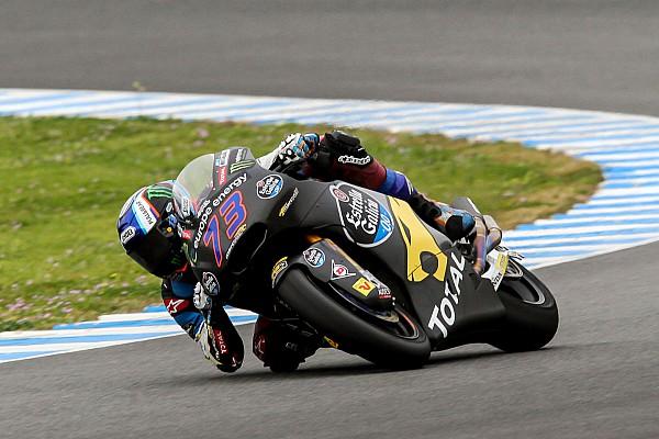 Márquez en Moto2 y Arbolino en Moto3 cierran los test en Jerez a ritmo de récord