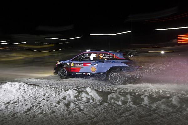 WRC Leg звіт Ралі Швеція: Ньовілль - за день від перемоги?