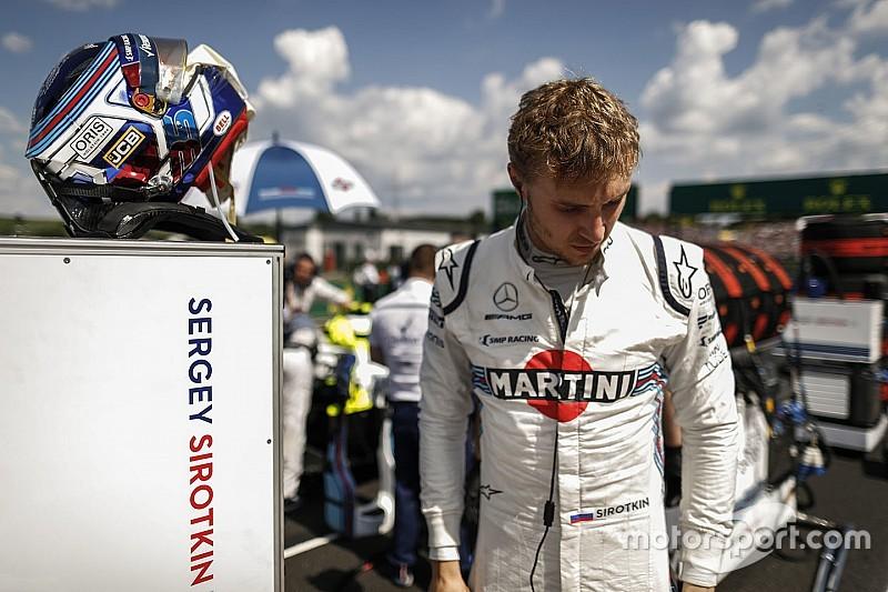 Сироткин: Худшее, чего ожидали в Williams перед стартом сезона – пятого места
