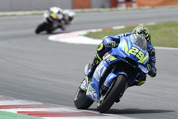 Iannone frustrated by Suzuki tyre drop-off