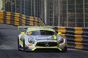 GT Qualifying report Macau GT: Mortara on pole as Mercedes dominates