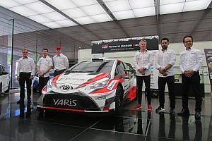 WRC 速報ニュース WRCトヨタ、参戦初年度を報告。