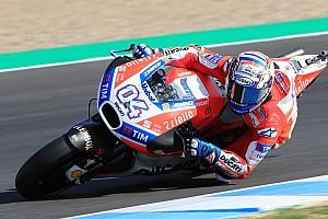 MotoGP Reporte de pruebas Dovizioso cierra el año en Jerez a ritmo de récord