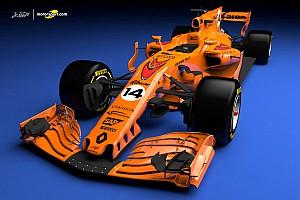 Formula 1 Special feature VIDEO 3D: Akan seperti apa corak 'oranye pepaya' McLaren di F1 2018?