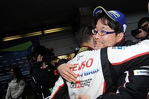 最終戦で待望の優勝「歯車が噛み合い始めたのは富士から」とトヨタ村田