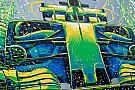 Формула 1 Гоночное художество. Что рисовали на трассах Ф1 в сезоне-2017
