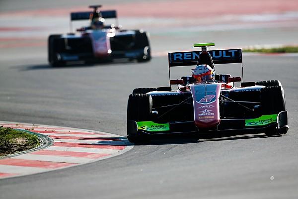 GP3 Barcelona testi: Son günde Hubert lider