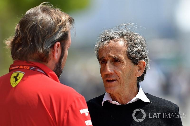 Prost cree en Ferrari y Raikkonen: