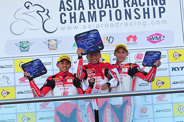 ARRC Race report ARRC Australia: Rheza menang lagi, AHRT rajai podium