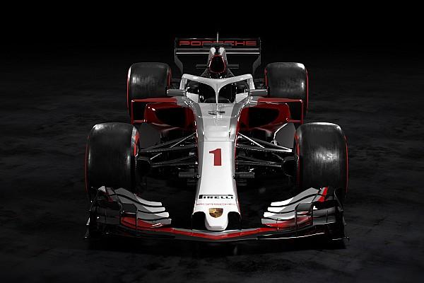 Formula 1 Özel Haber Porsche F1 aracı nasıl görünebilirdi?