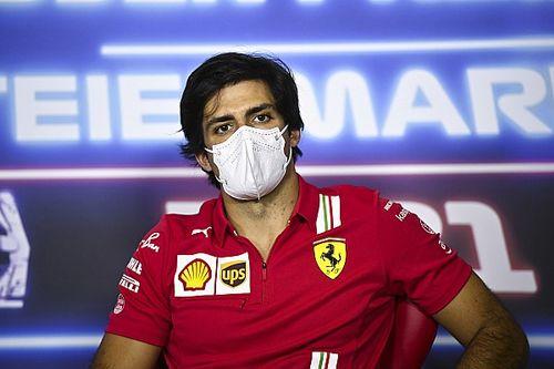 """Sainz: """"Ferrari'nin lastik sorunları, geçmişe dayanıyor"""""""