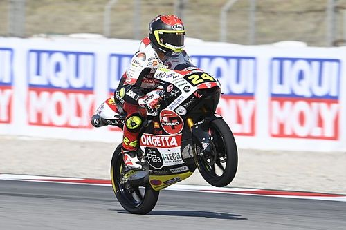 Moto3, Assen, Libere 2: Suzuki cade, ma è leader