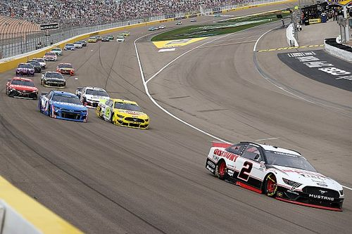 "Second-place Keselowski ""really happy"" for Vegas winner Larson"