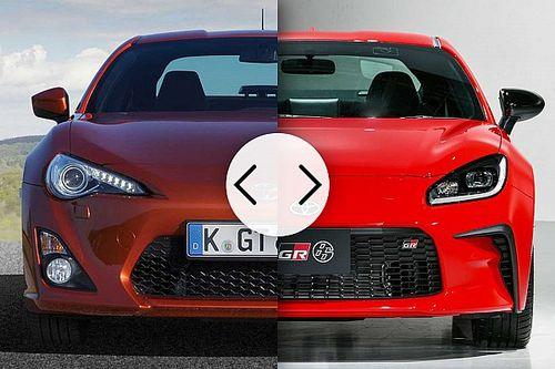Toyota GR86 e GT86, come cambia la coupé sportiva giapponese
