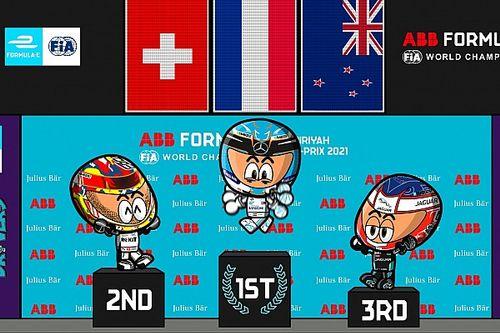 Vídeo: la primera carrera nocturna de la Fórmula E según MiniEDrivers